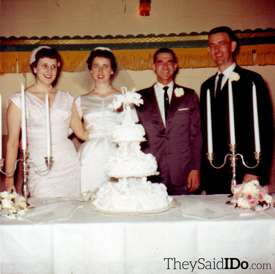 Wedding Reception - April 23, 1962 {TheySaidIDo.com}