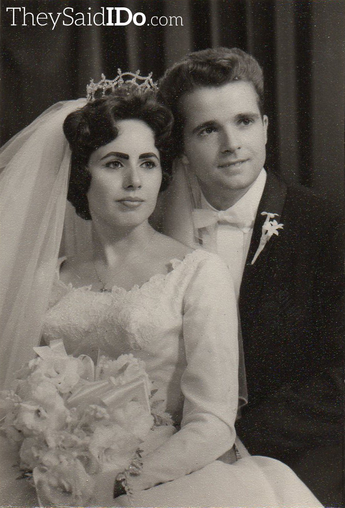 September 1962 Couple {TheySaidIDo.com}
