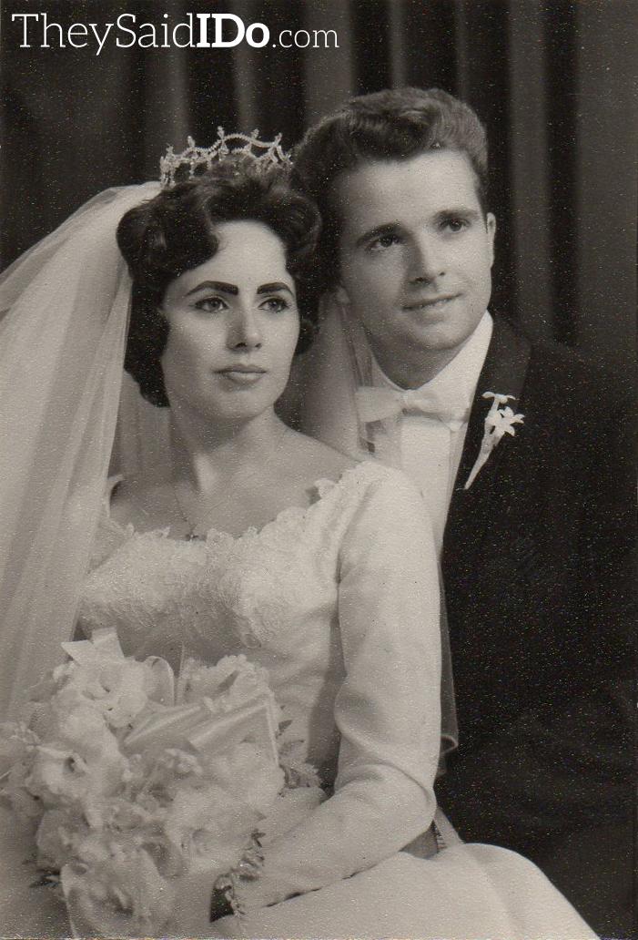 September 1962 Couple {TheySaidIDo.com}