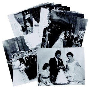 Collection of Never Before Seen JFK Wedding Negatives - RR Auction {TheySaidIDo.com}