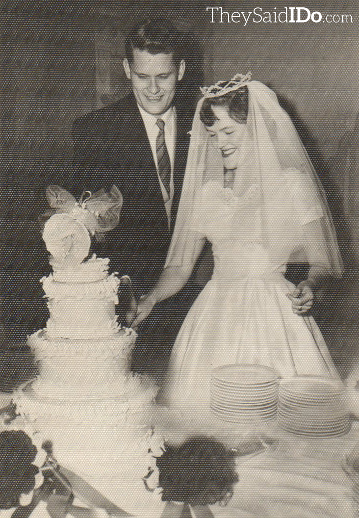 Don & Pat - February 1954 {TheySaidIDo.com}