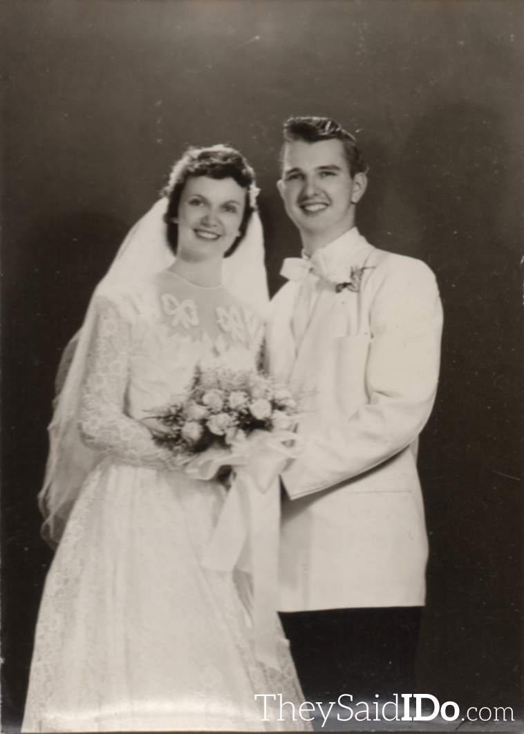 Marietta and Ben 1953 {TheySaidIDo.com}