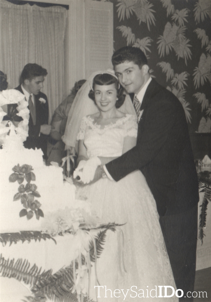 Dottie and Tony - October 6, 1955{TheySaidIDo.com}