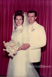 Margaret and Rob - April 19, 1969 {TheySaidIDo.com}